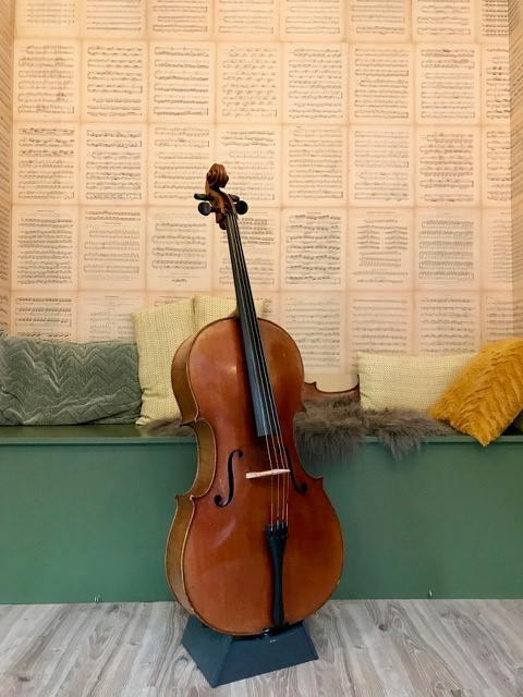 Duitse cello 4650,00 d