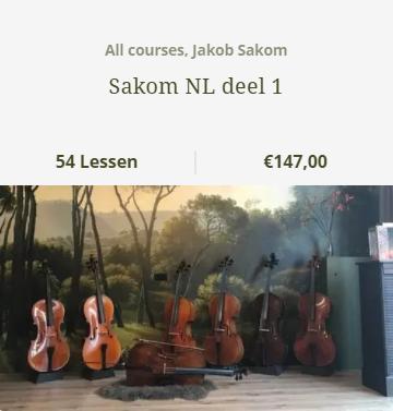 Jakob Sakon bundel 1 NL - Scarlett Arts