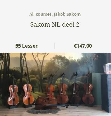 Jakob Sakon bundel 2 NL - Scarlett Arts