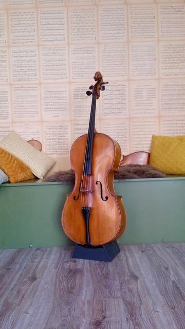 Oude Duitse cello aanbieding 2980 2680 d