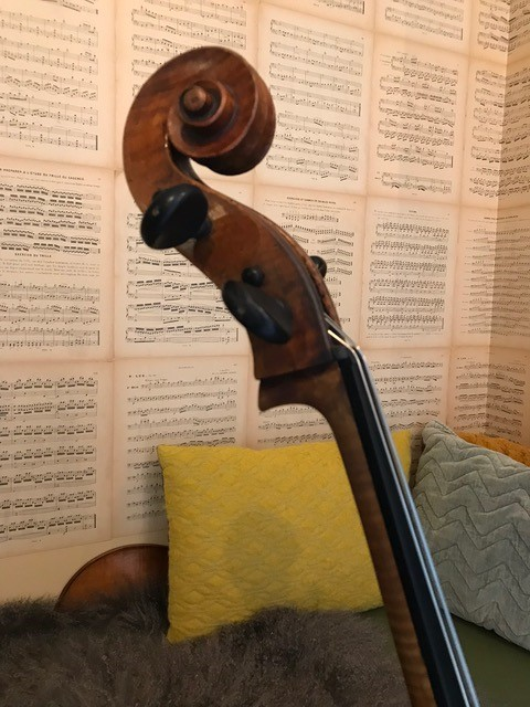 Zuid Duitse cello 13.000,00 Scarlett Arts e