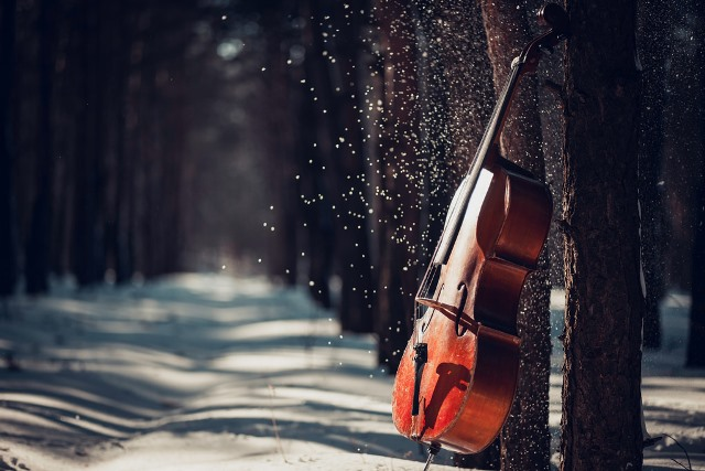 Vrieskou, cello sleutels springen los!
