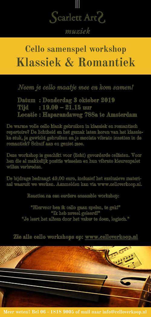ScarlettArts_Eendaagse cello samenspel workshop_Klassiek & Romantiek_031019