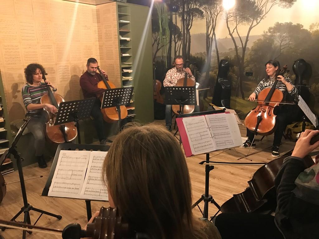 Annie tangberg cello workshop - site
