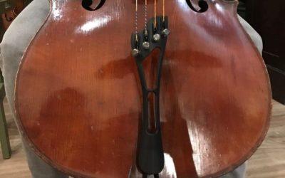 Het Frirsz staartstuk / tailpiece voor cello is weer binnen, reserveer jouw item!