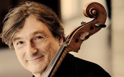 Maarten Mostert, oprichter van de Cello Biënnale
