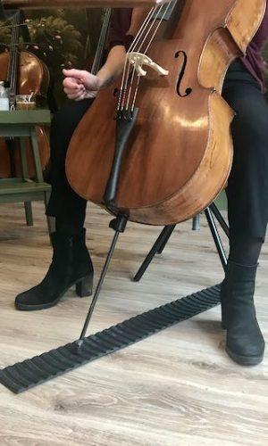 Cellopunt houder