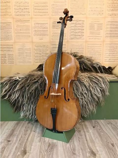Celloverkoop-oude Duitse cello-rond 1940-Scarlett Arts