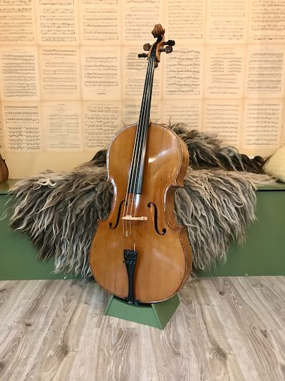 Oude Duitse cello