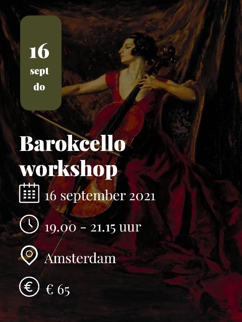 Barokcello workshop 2021