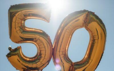 Hoera ik word 50!